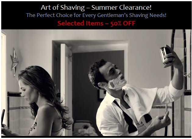 Art of Shaving - Summer Clearance_