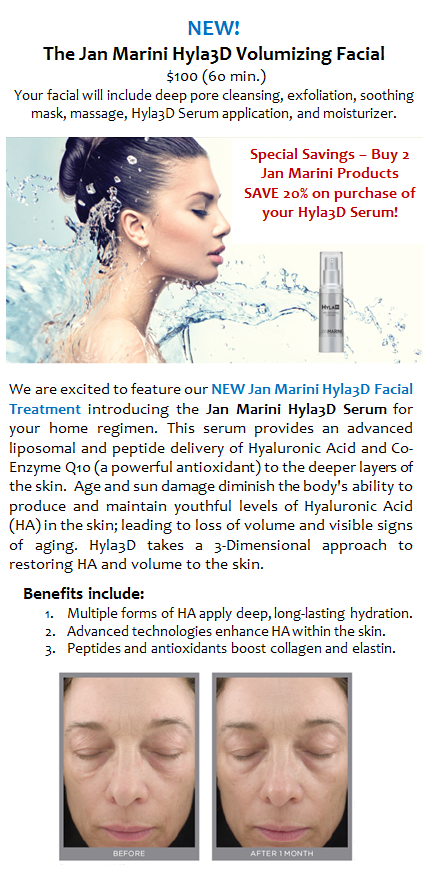New Jan Marini Hyla3D
