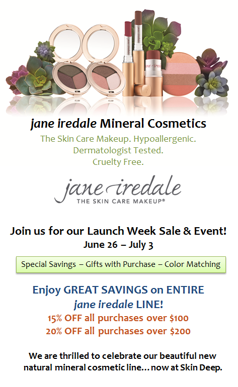 Jane Iredale Launch Event Week