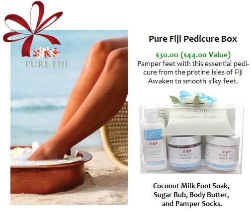 Pure Fiji Pedicure Box
