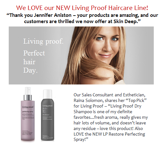 Living Proof Haircare Line
