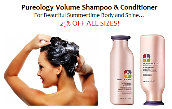Pureology Volume Shampoo & Conditioner 25% OFF All Sizes