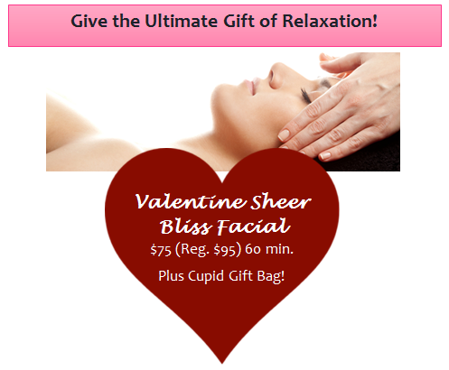 Valentine Sheer Bliss Facial