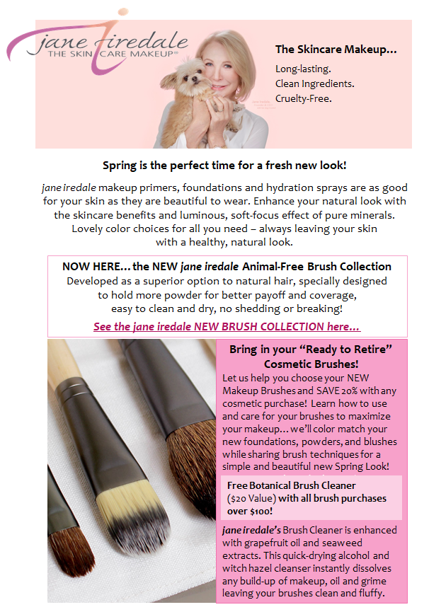 New Brushes from jane iredale!