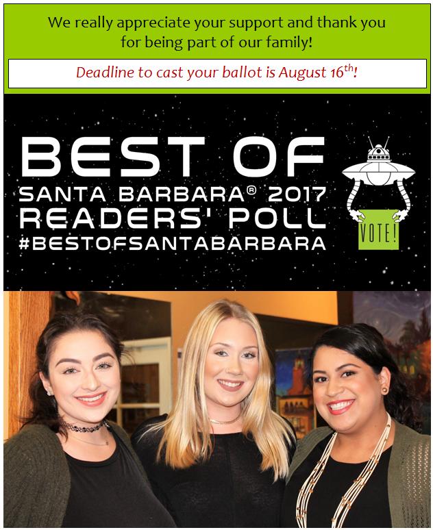 Vote Us Best Of!