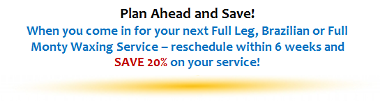 Plan Ahead and SAVE!