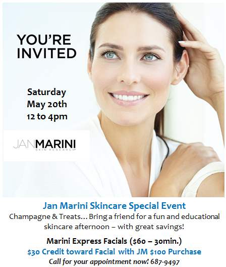 Jan Marini Skincare Event!