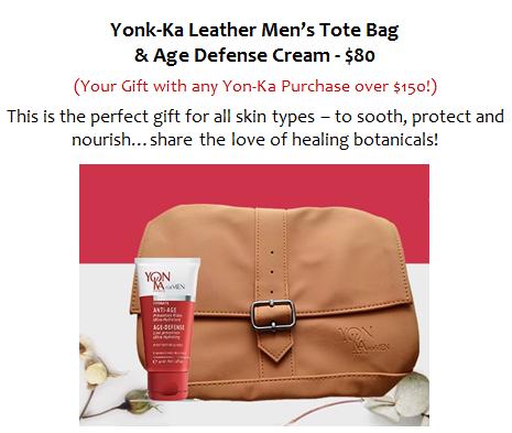 Yonk-Ka Leather Men__s Tote Bag