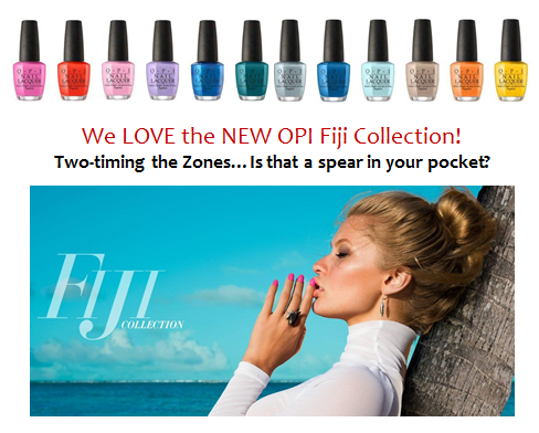 New OPI Collection!