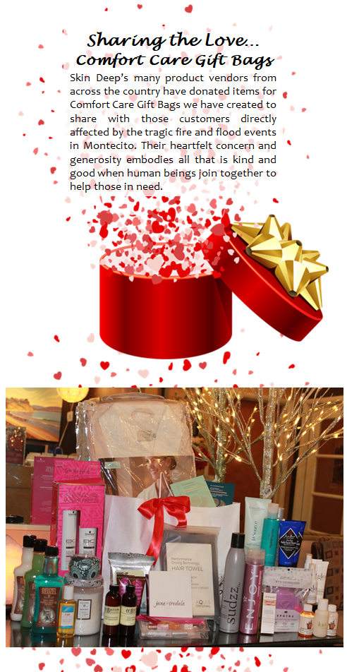 Comfort Care Gift Bags