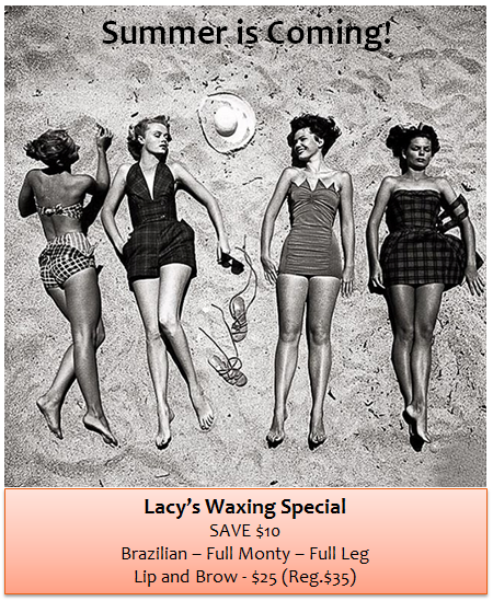 Lacy's Waxing Special
