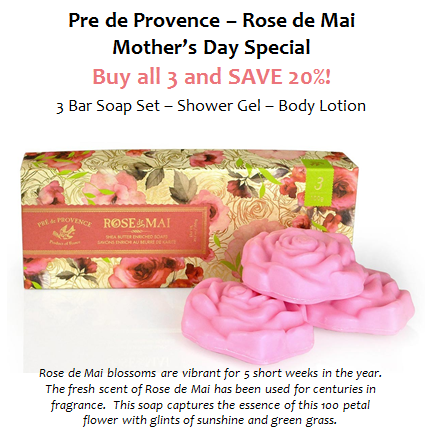 Rose De Mai Savings!