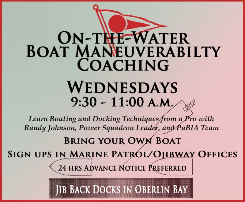 Boater Coaching