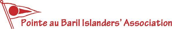 Pointe au Baril Islanders' Assn logo