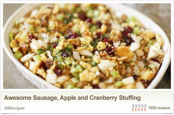 Thanksgiving Dish Ideas