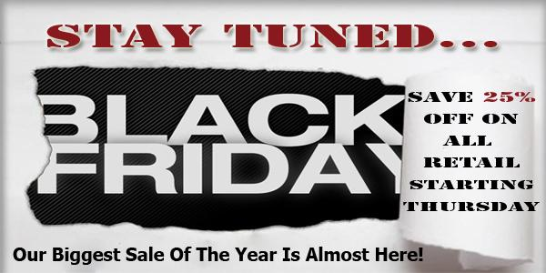 Black Friday Sale Coming Soon