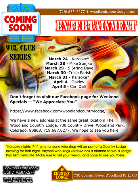 Country Lodge Entertainment