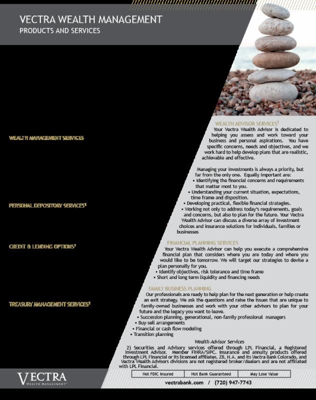 VECTRA Services
