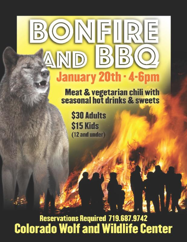 Wolves Bonfire and BBQ
