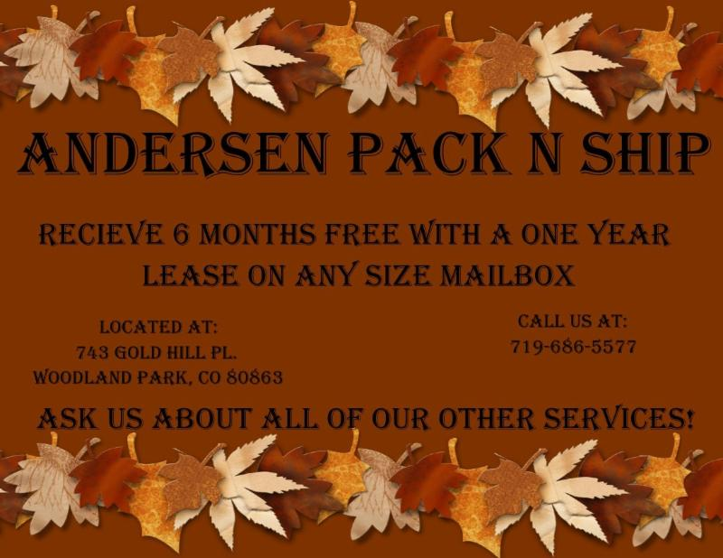 Andersen Pack and Ship