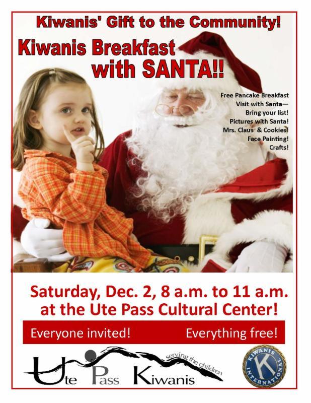 Kiwanis Breakfast with Santa
