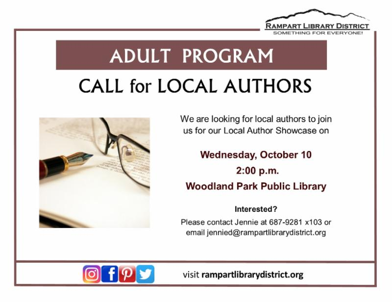 Library Call for Authors