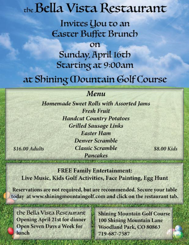 Easter at Shining Mountain