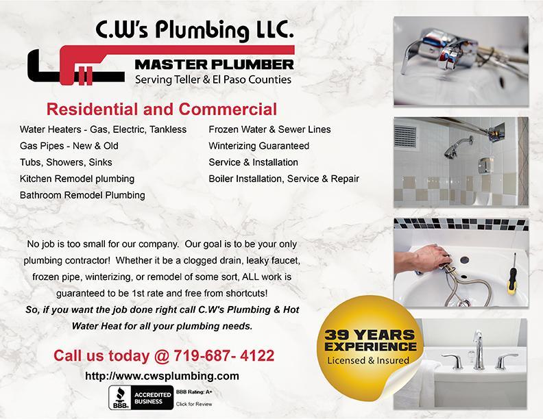 Plumbing Specials