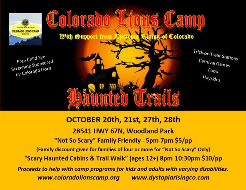 Lions Haunted Trail