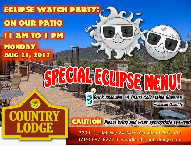 Eclipse Watching at County Lodge