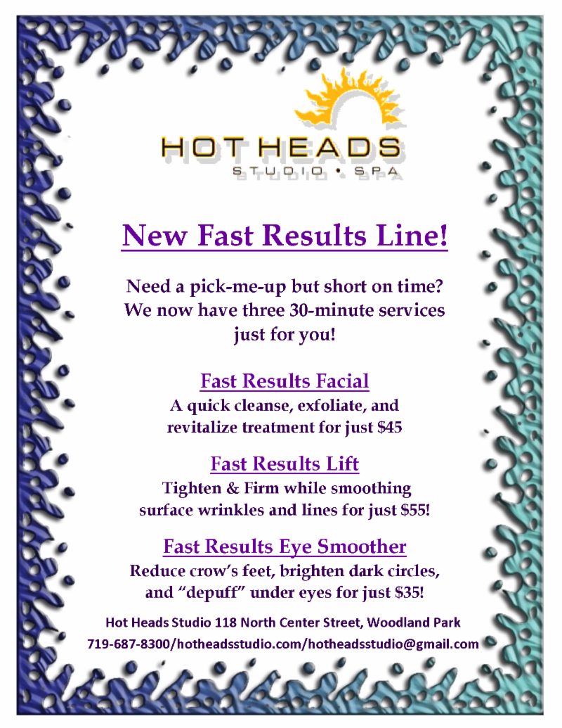 Fast Results