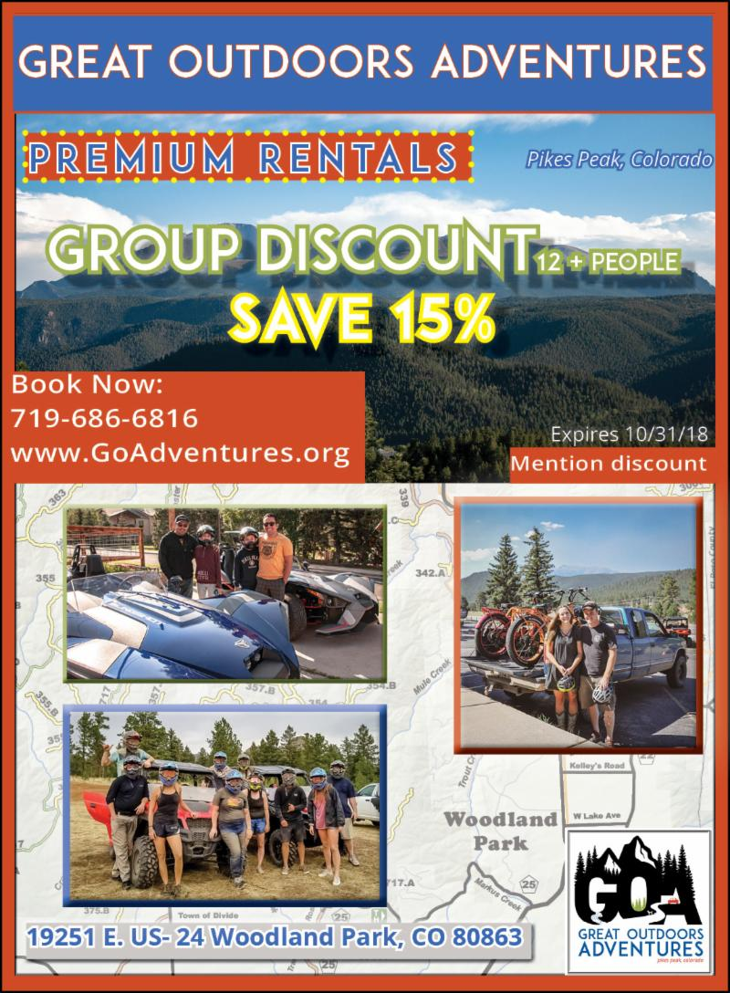 GOA Group Discount