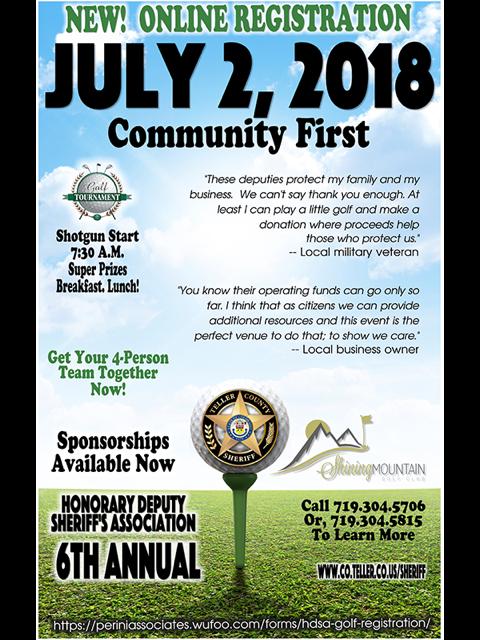 Sheriff Association Golf