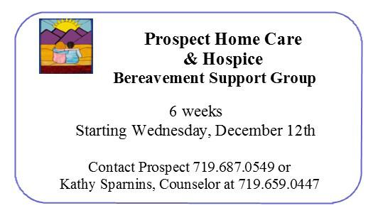 Prospect Bereavement Support Group