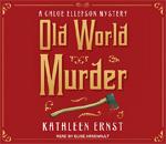 Old World Murder audiobook CD box cover