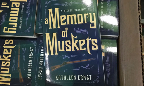 The 7th Chloe Ellefson mystery is now arriving in bookstores.