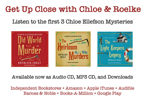 Get Up Close with Chloe _ Roelke mysteries on audiobooks.