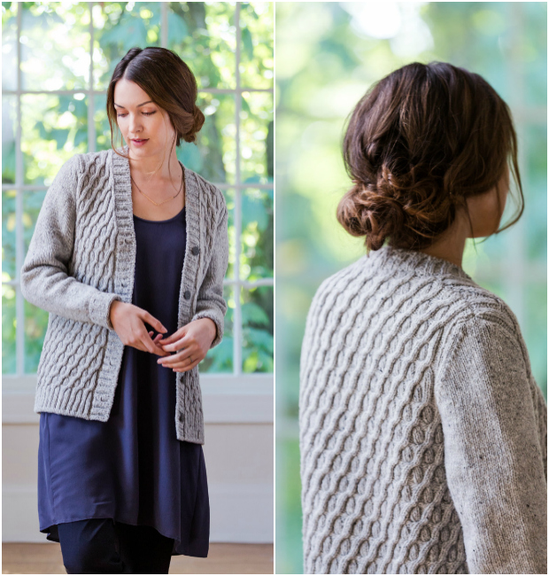 Celyn Cabled Cardigan