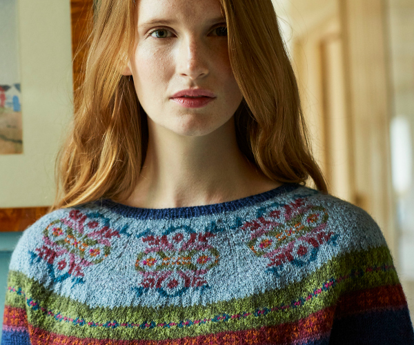 Wren Fair Isle Yoke by Marie Wallin
