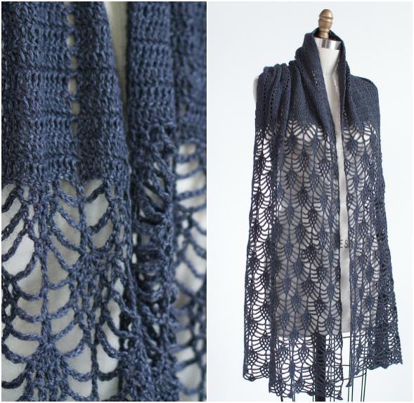 Pensdale Crochet Scarf