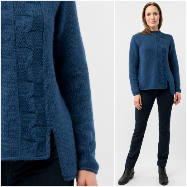 Woolfolk North Cable Pullover