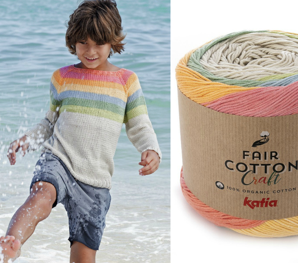 Katia Fair Cotton Craft Yarn