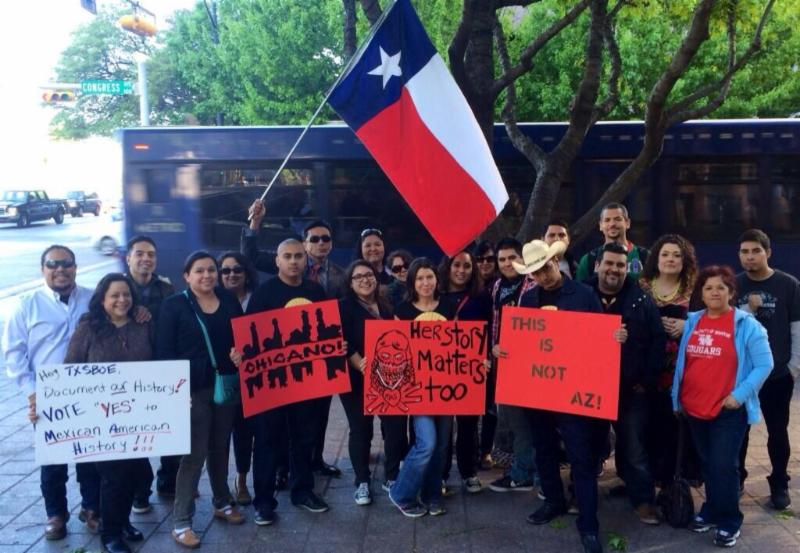 Houston Caravan to Stop Racist Texas Textbook