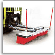 Forklift Broom