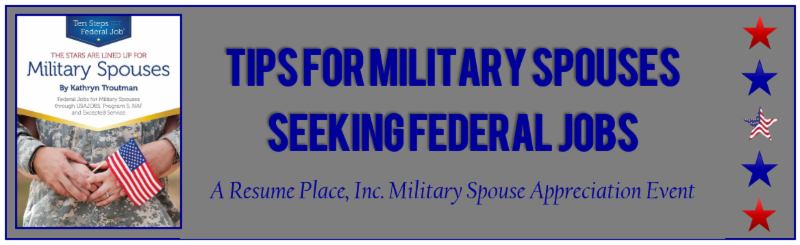Resume Place Free 45 Minute Webinars For Military Spouse