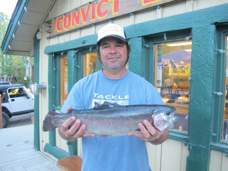 Convict lake resort fishing report october 1 2016 for Wheeler lake fishing report