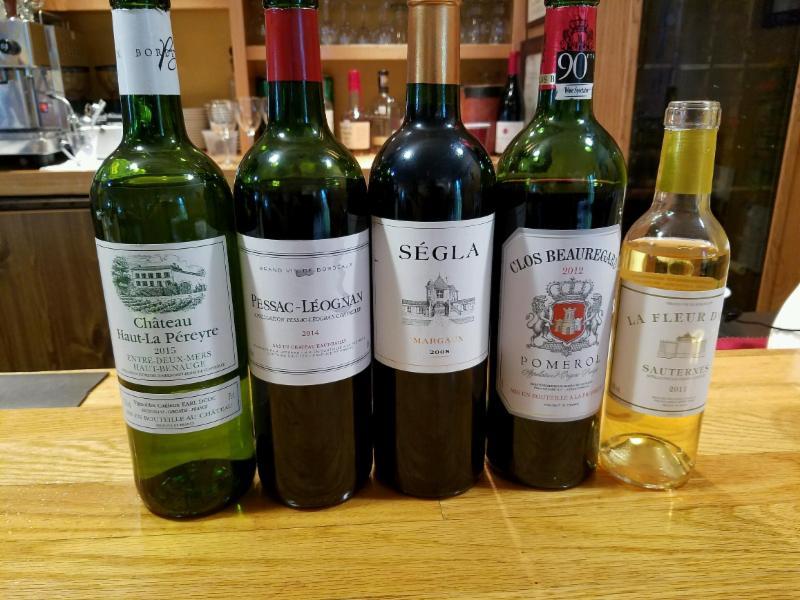 Bordeaux Wines