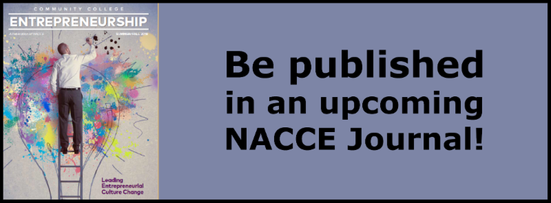 Be Published in an upcoming NACCE Journal