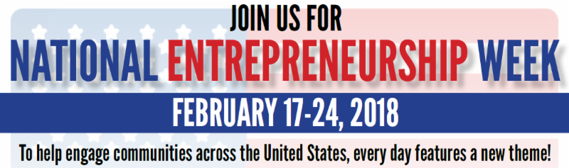 Join us for National Entrepreneurship Week