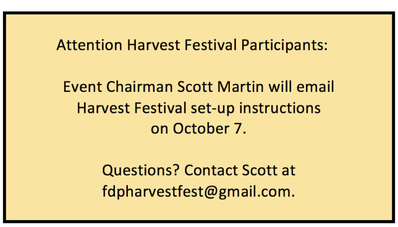 Franklin Downtown Partnership: Harvest Festival - October 14